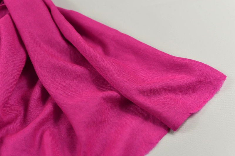 Kašmírová šála Exclusiv křiklavě růžová 77d0748fb6